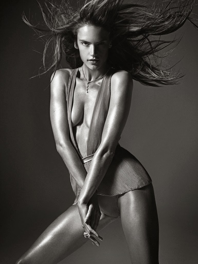 Alessandra Ambrosio Photos from W Magazine Cover March 2014 HQ Scans