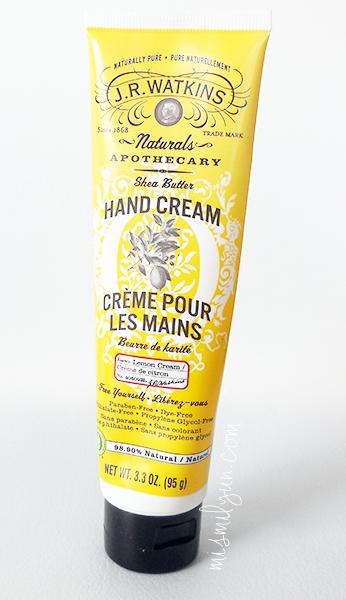 shea butter hand cream watkins