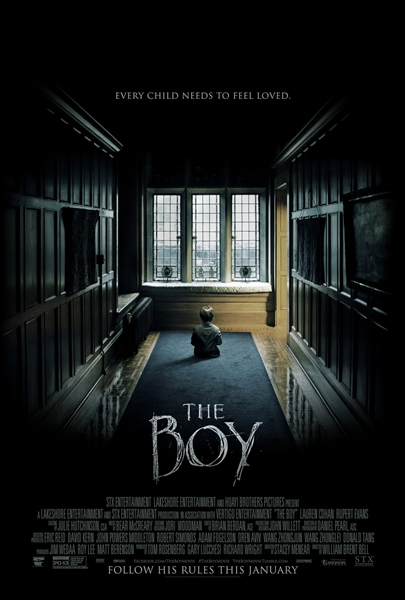 byrawlins, horror, movie review, The Boy, The Boy Movie, Thriller,