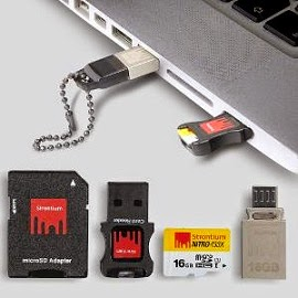 Special Offer: Strontium Nitro 433x 16 GB microSDHC (Class 10) Memory Card + Nitro 16 GB OTG Pen Drive, All for Rs.1059 Only @ Homeshop18