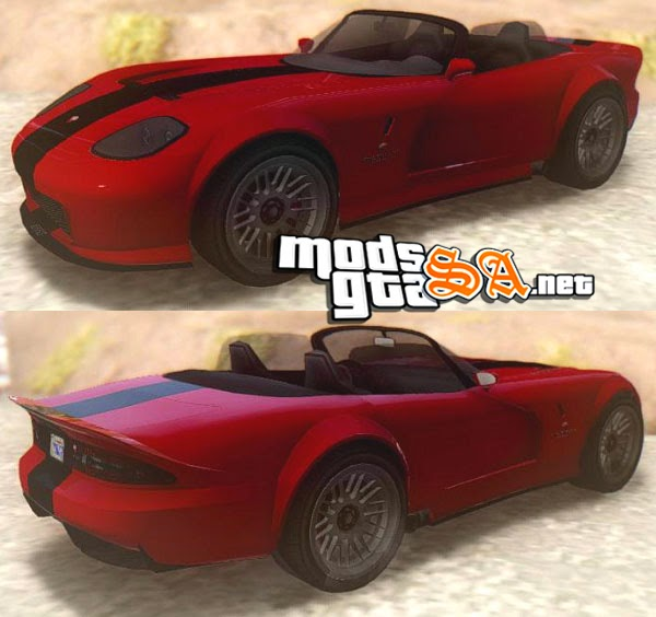 SA - Bravado Banshee do GTA V