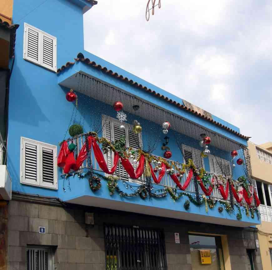 la sandunga fachadas y balcones navide os