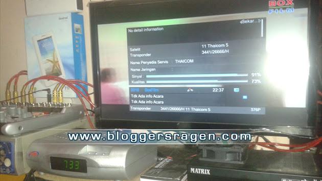 trik mencari satelit thaicom 5