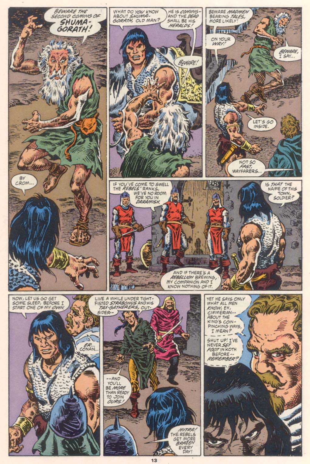 Conan the Barbarian (1970) Issue #252 #264 - English 11