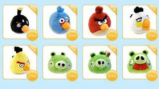 Boneka Angry Birds