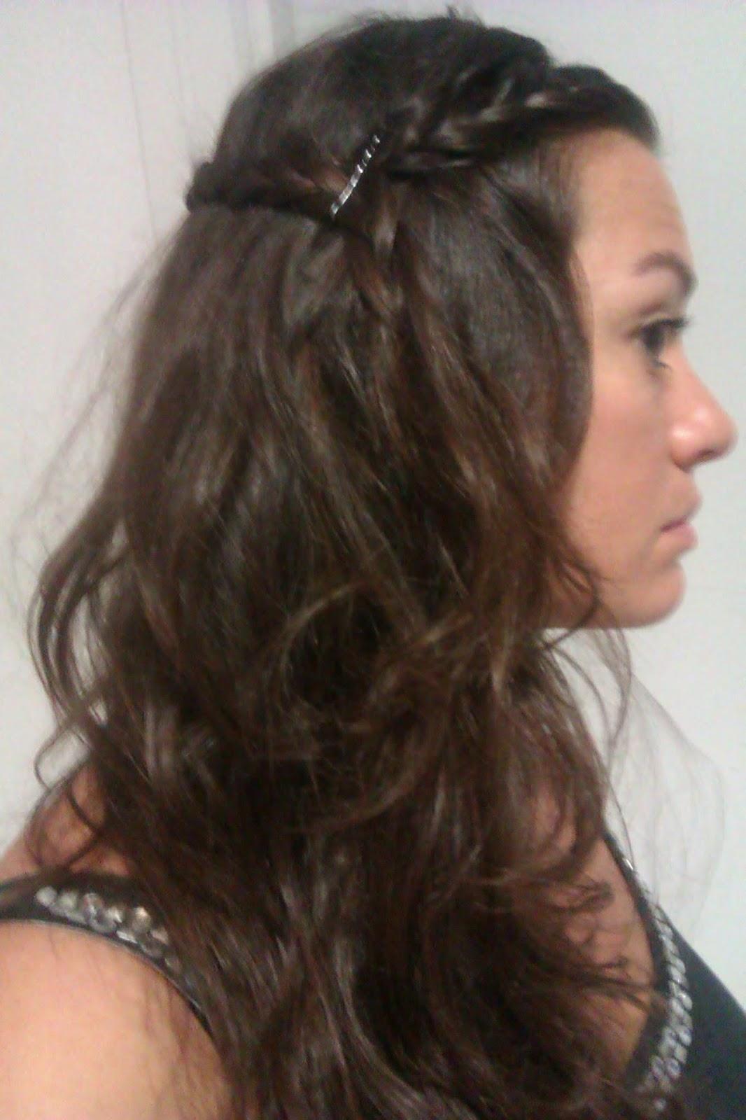 M mate bella peinado semi recogido con trenzas for Imagenes semirecogidos