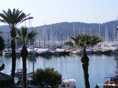 View From Cadde Cafe In Fethiye