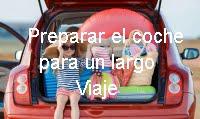 Preparar coche para un viaje largo