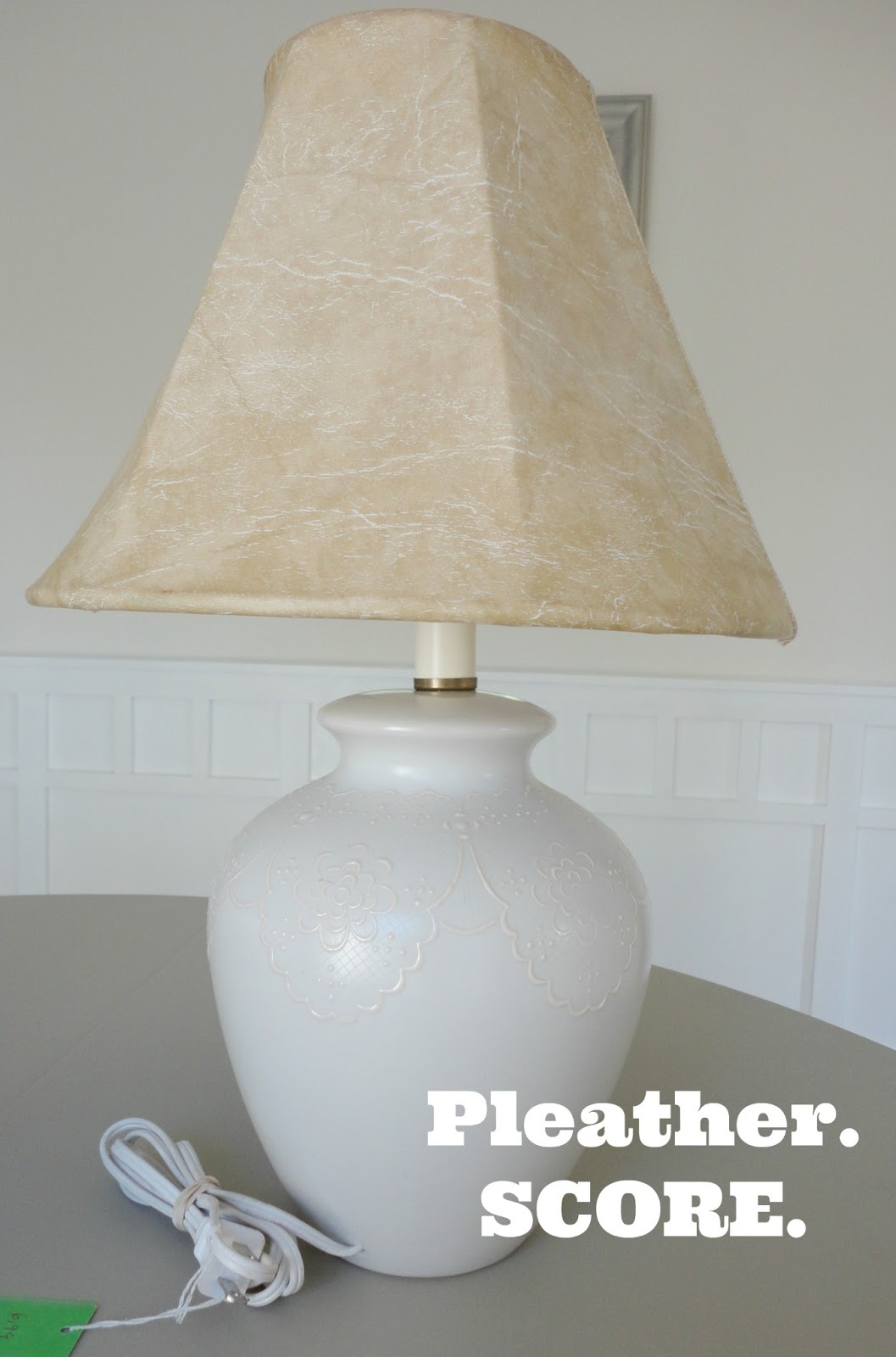 How To Update A Thrift Store Lamp
