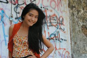 Foto gambar terbaru Haviva Rifda, Anisa Tendangan Si Madun 2.