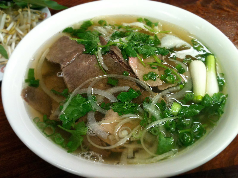 Asian Noodle Soup: Pho Bo Recipe - Traditional Beef Broth Rice Noodle ...