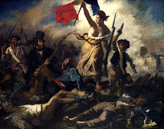 Liberty Leading the People, 1830 by Eugène Delacroix.
