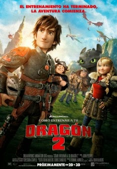 ver Como entrenar a tu dragon 2 / how to train your dragon 2 / (2014)