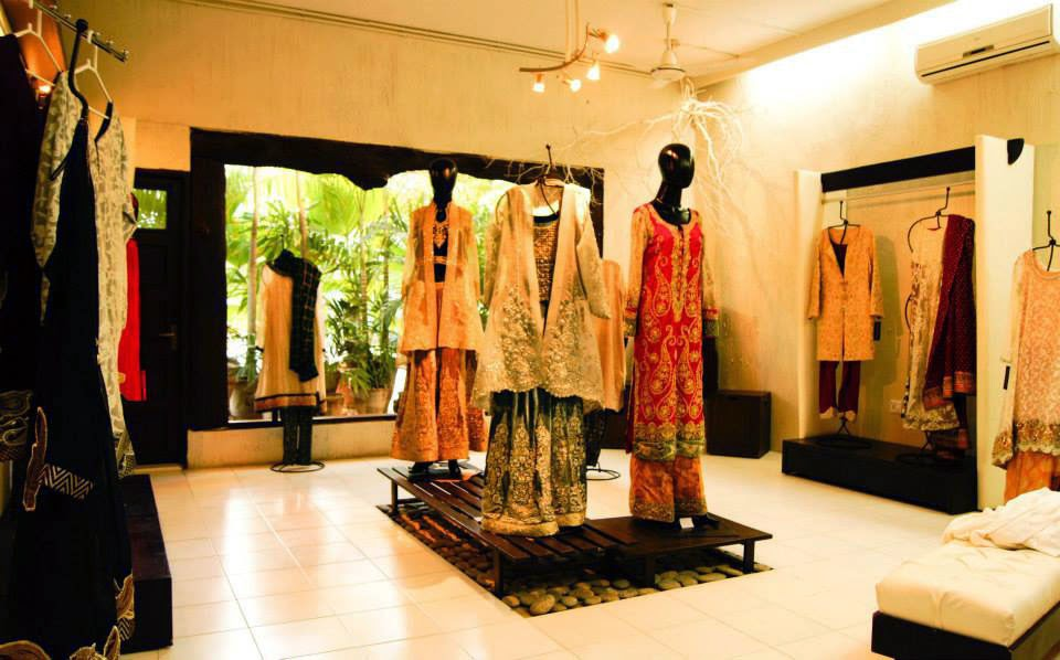 Umbereen-Sharmeen-Pakistani-Fashion-showroom