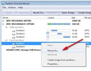 Cara memperbaiki partisi hardisk yang tidak terdeteksi di explorer Windows 7