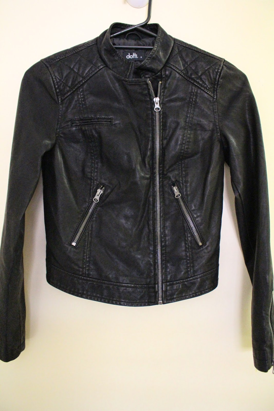 fall fashion haul, autumn fashion haul, faux leather jacket, quilted biker jacket