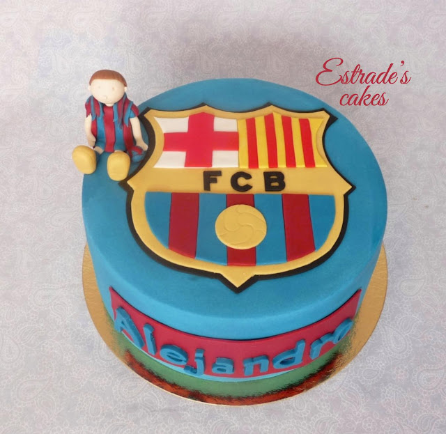 tarta del Barcelona 4