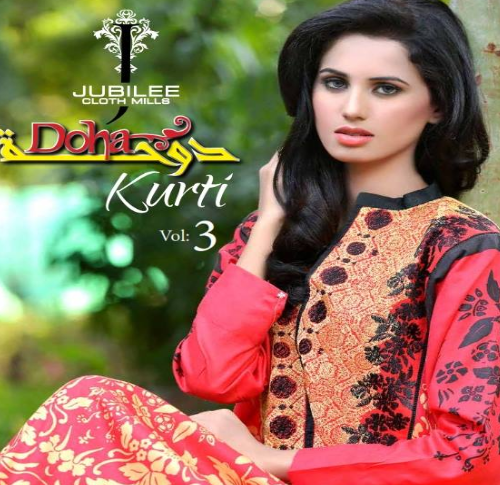 Doha Kurti Winter Collection 2014 Vol-3