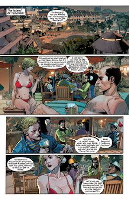 Pagina interior SuperCrooks - Mark Millar