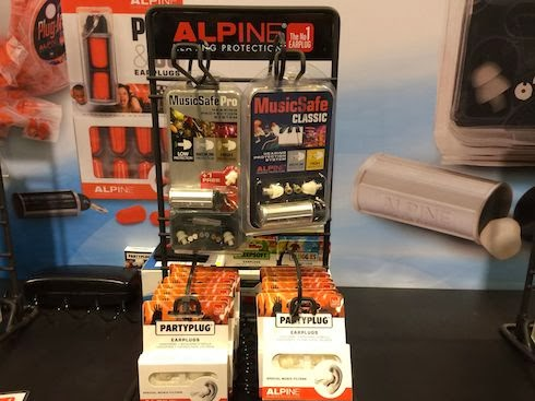 Alpine Ear Plugs At NAMM 2014 image