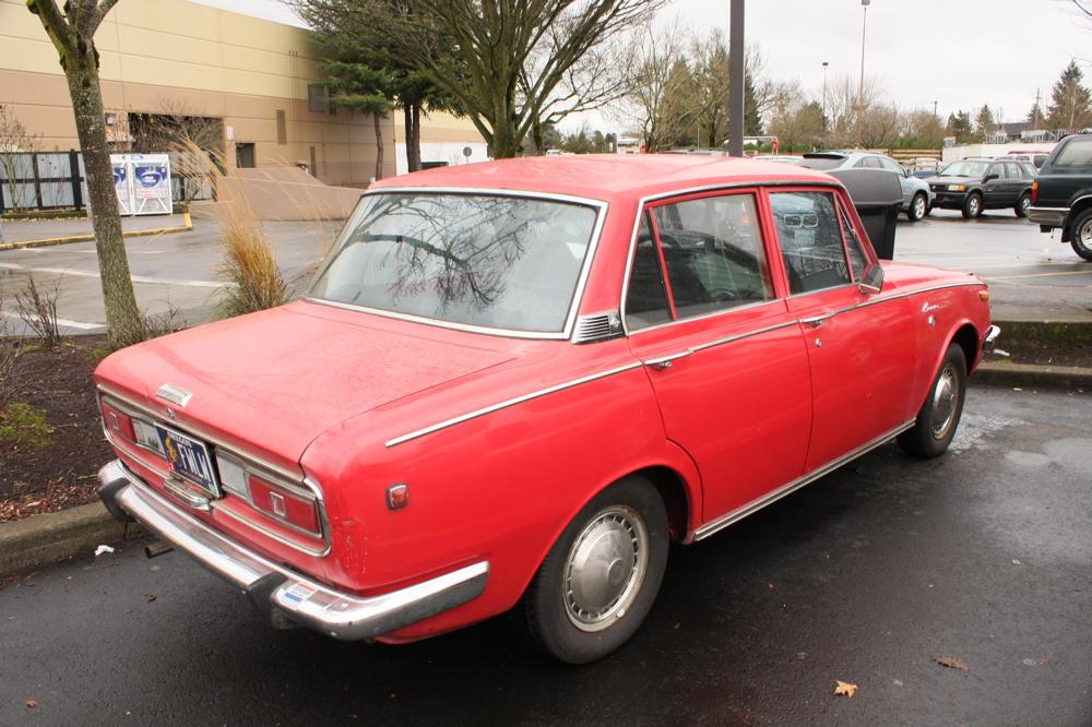1969 Toyota Corona Sedan.