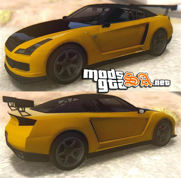 SA - Annis Elegy RH8 V2 do GTA V