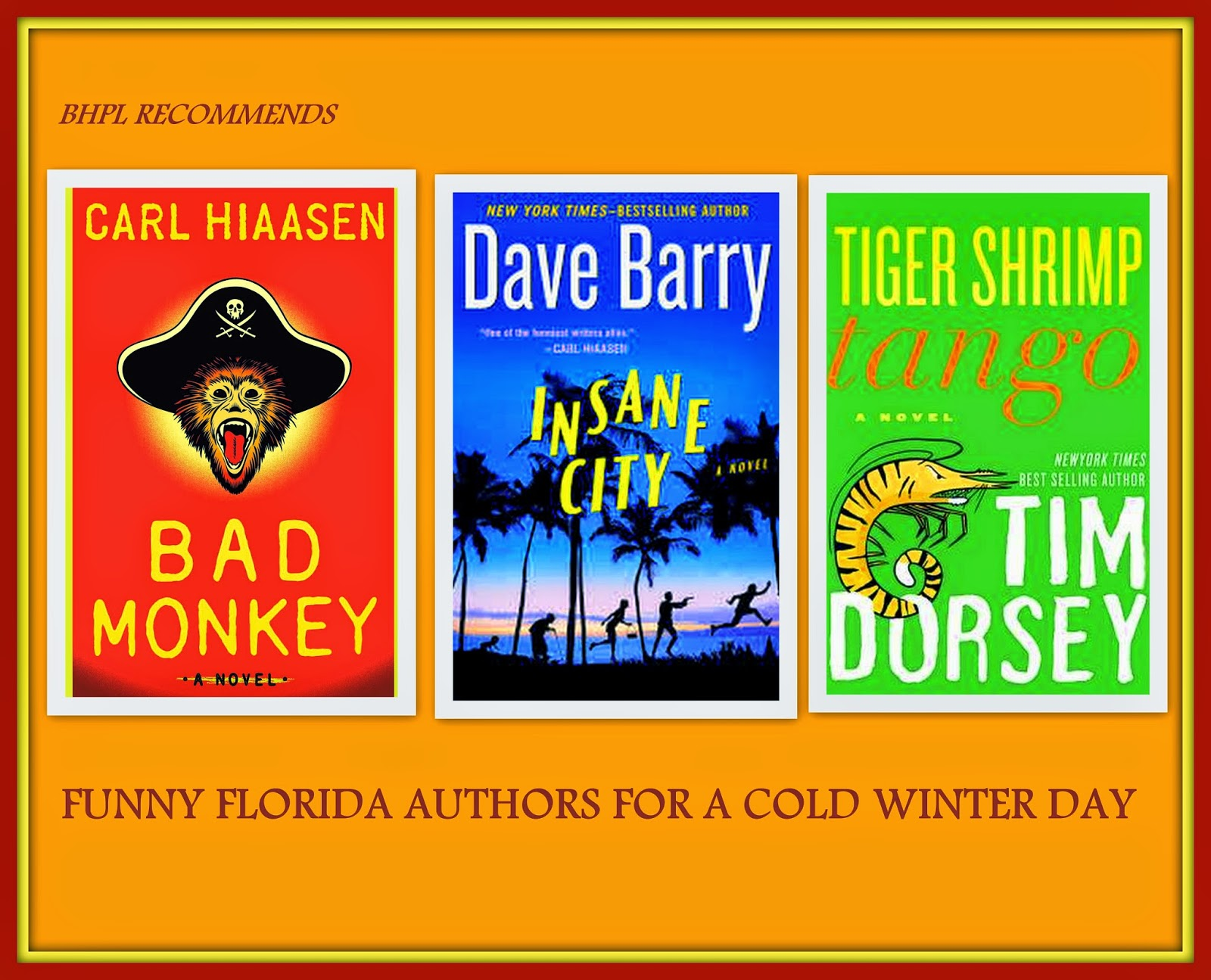 Funny Florida authors Picasa collage