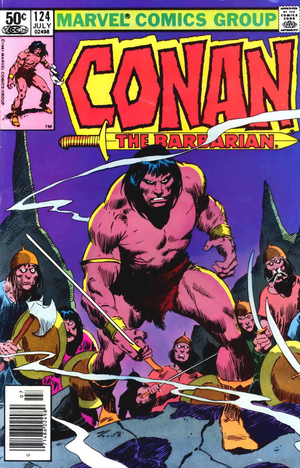 Conan the Barbarian (1970) Issue #124 #136 - English 1