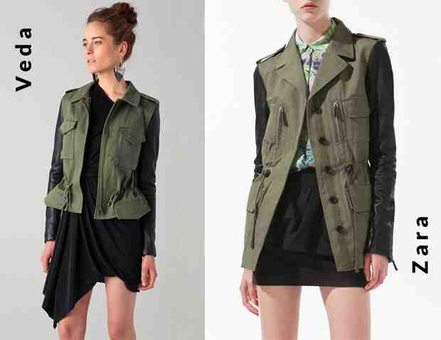 Contrast Sleeve Park Coat – Splurge Vs Steal