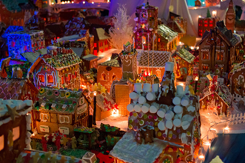 christmas wallpaper 2012 largest gingerbread city in bergen norway