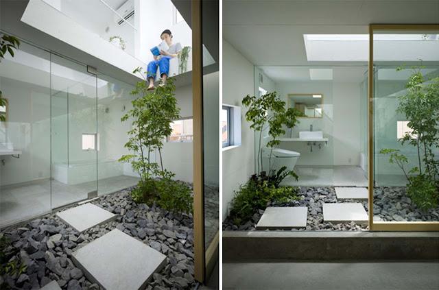 Suppose design casa giardino in moriyama arc art blog - Giardino interno casa ...