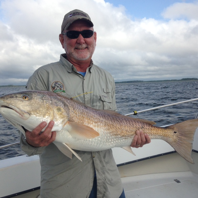 Degs fishing report shrimp boat bycatch and a big drum for Neuse river fishing report