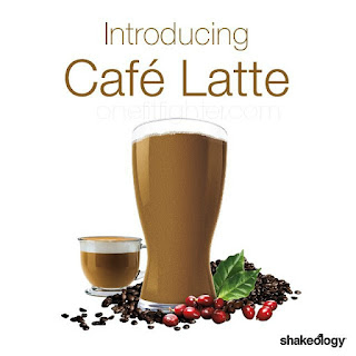 cafe latte shakeology, coffee flavored shakeology, new shakeology flavor, katy ursta