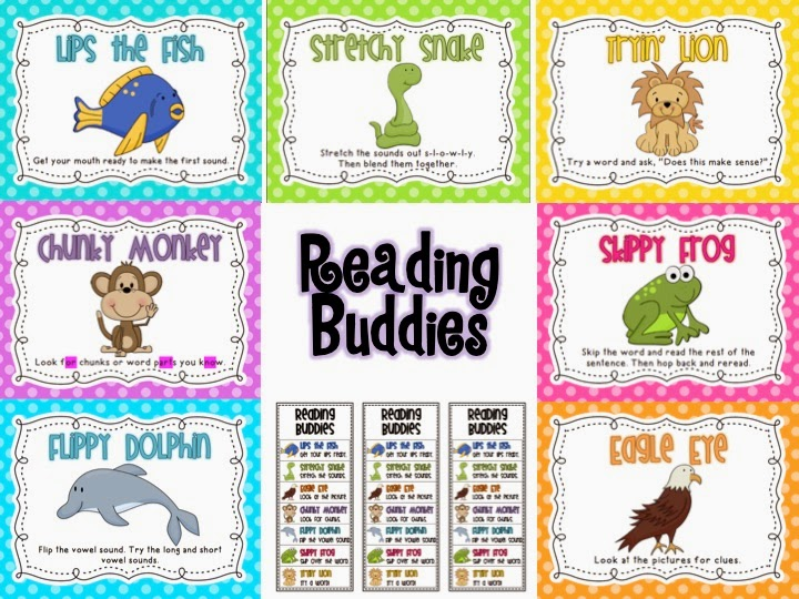 http://www.teacherspayteachers.com/Product/Reading-Buddies-Strategies-Posters-1169761