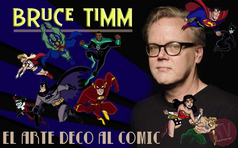 Bruce Timm - El arte deco al comic
