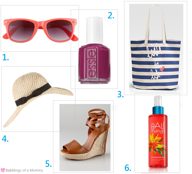 1. Bright Sunnies Even if you're not big on the neon trend (like me), ...