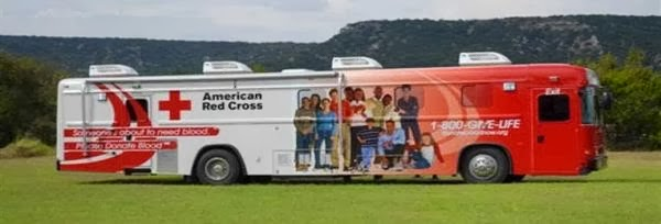 Red Cross Blood Bus is Heading to Brighton Ford on February 4th