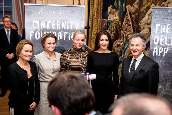 Princess Mary Attended French Embassy's Prize For Human Rights 2015