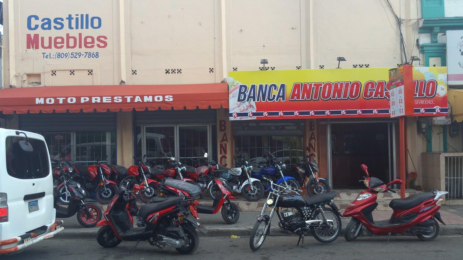 Inversiones Castillo Ventas de Muebles, Bancas y Motocicletas