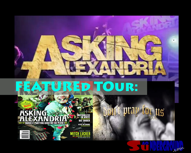 AA -Asking alexandria - tour dates