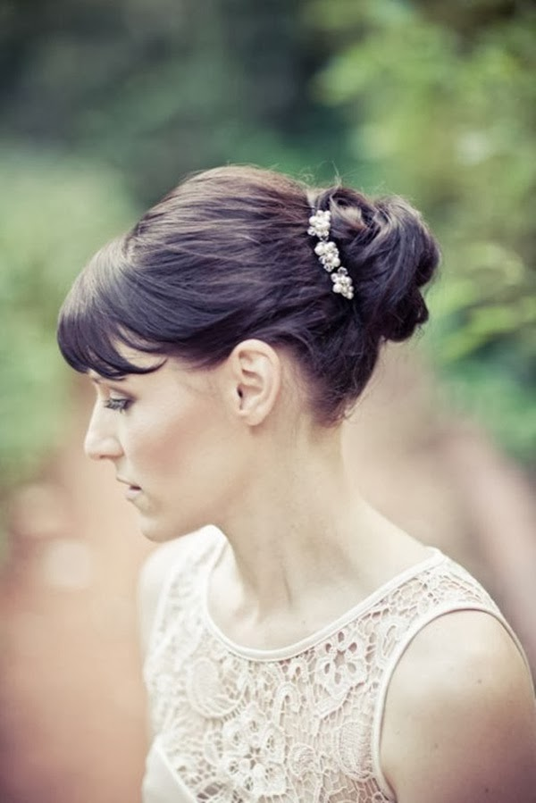 2013 Wedding Hairstyles with Fringes