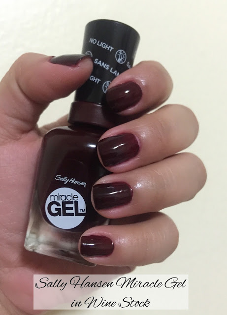Sally Hansen Miracle Gel in Wine Stock