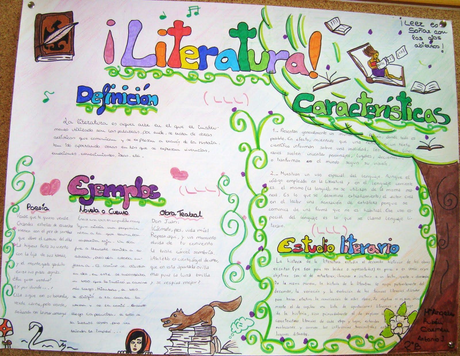 Blog del ies laguna de toll n g neros literarios for Definicion periodico mural