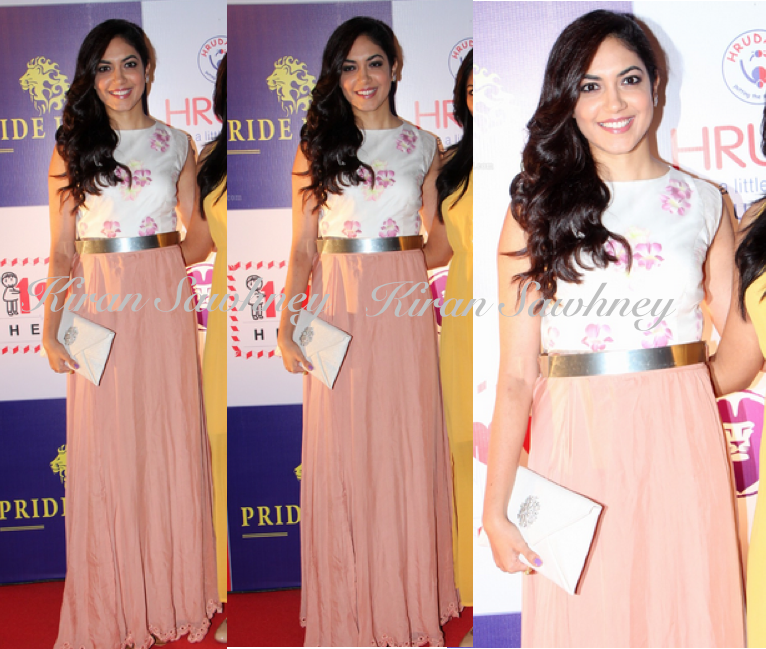 Ritu Varma at 100 Hearts Charity Event in Frou Frou