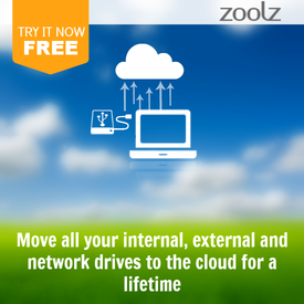 Backup your data 4 a lifetime in cloud