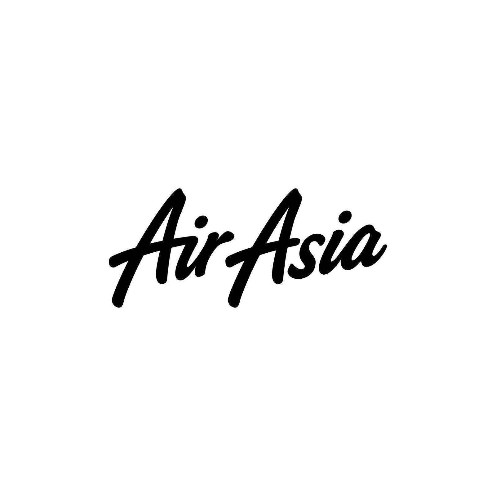 Download Vector Logo Maskapai Penerbangan Indonesia Tiket Pesawat Air Asia
