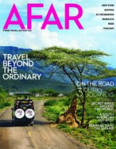 AFAR Travel Magazine, recommended by L&A, available in the emporium by linenandlavender.net   http://astore.amazon.com/linenandlaven-20/detail/B0074AWMVY