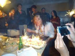 soplando mi segunda torta, Tiramisu!