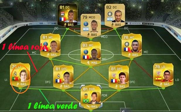 Cómo crear híbridos en FIFA 15 Ultimate Team, How create hybrid FUT 15