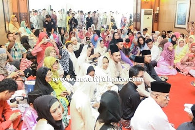 Majlis Pernikahan Natasha Hudson Dan Carleed Khaza (Gambar)